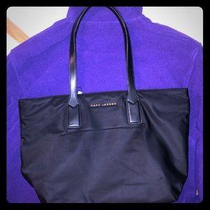 NWT Marc Jacobs black over the shoulder tote bag